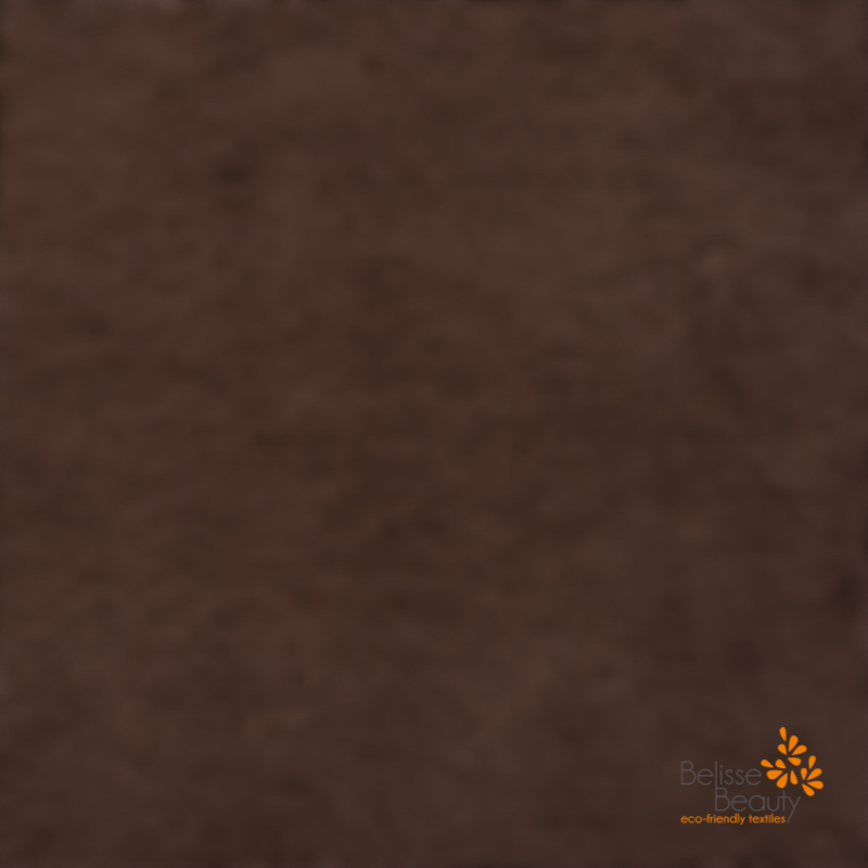 Maxi draps de bain 100x220 marron chocolat